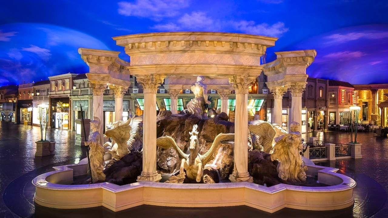 Forum Shops Fog Caesars Palace Las Vegas Caesars Palace Visit Las Vegas