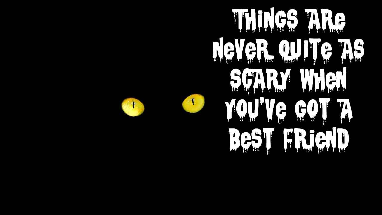 Delicieux Scary Quotes And Scary Halloween Sayings That Will Give Goose Bumps On Your  Skin | Scary