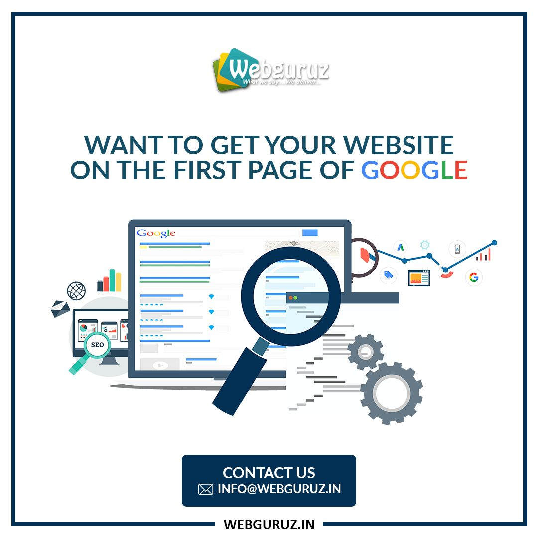 Want to get your website on the first page of Google