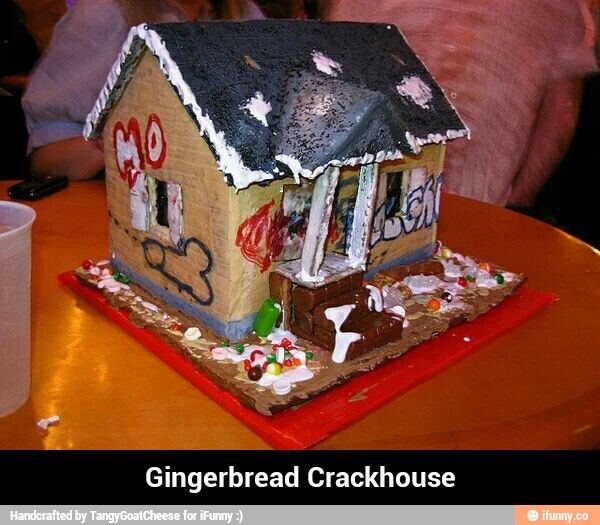 Alternative Gingerbread House.