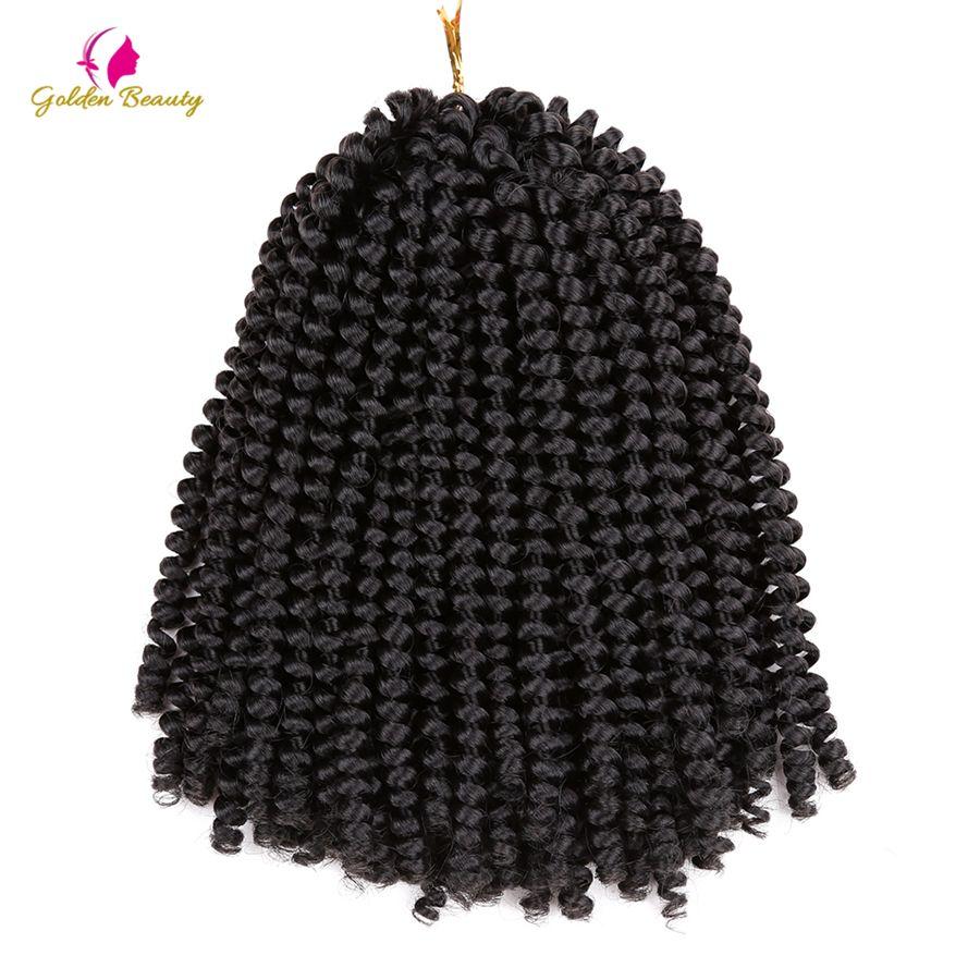 Golden beauty inch crochet braids crochet hair extensions spring