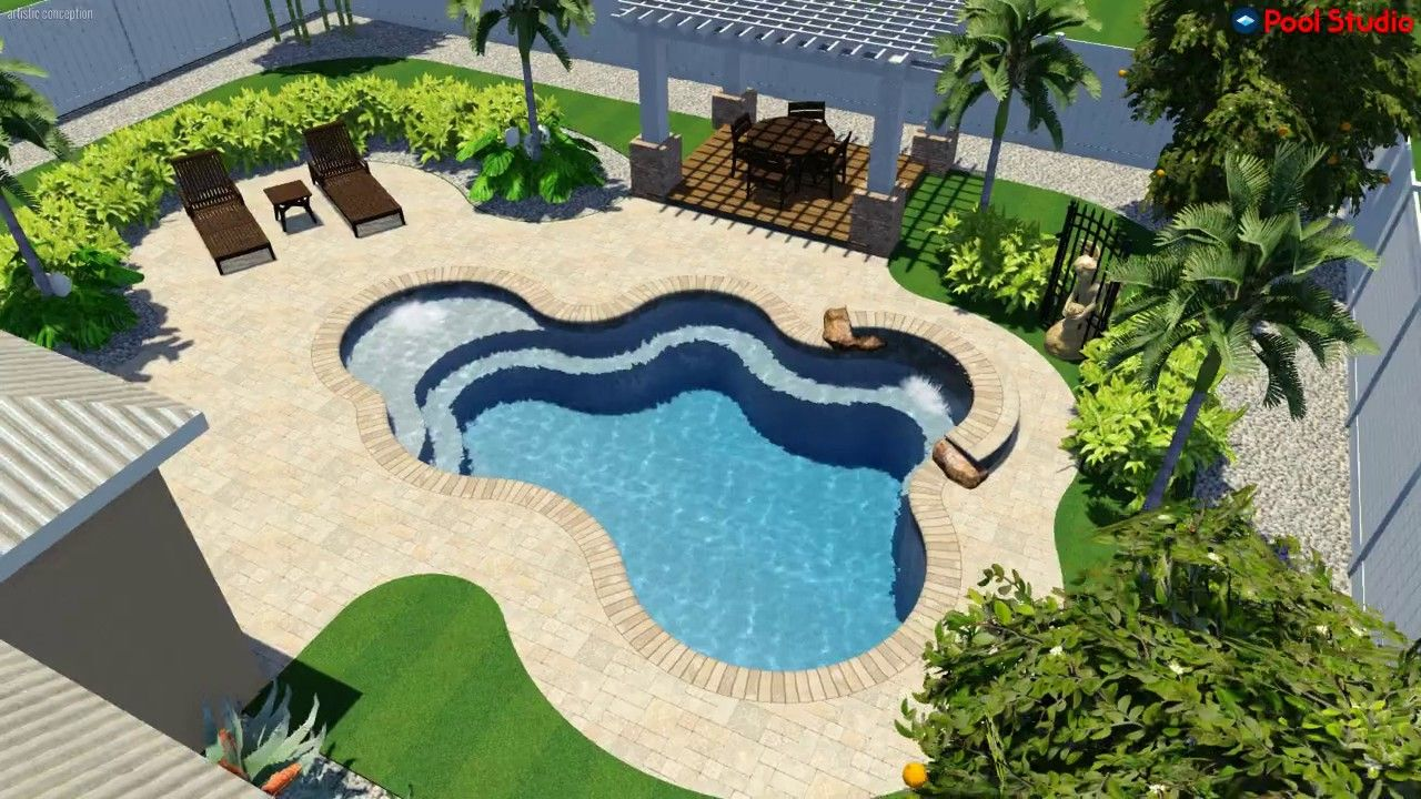 Pool Studio  3D Swimming Design Software Designed And Created By American Beauty Pools