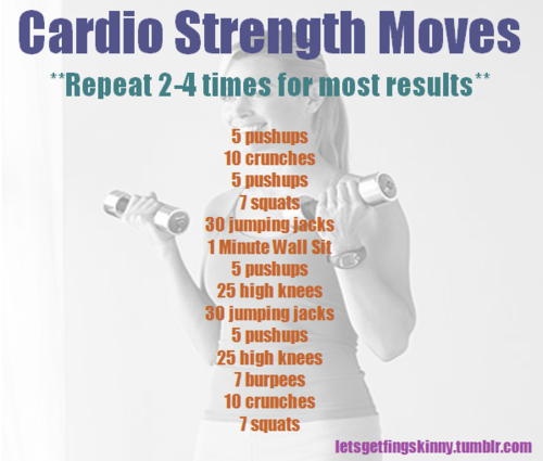 Quick Strategies In Strength Training Uncovered: Letsgetfingskinny: Quick Cardio/strength Workout. Home