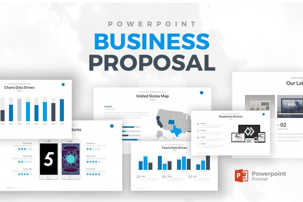 Business Proposal Powerpoint Template Trending Powerpoint