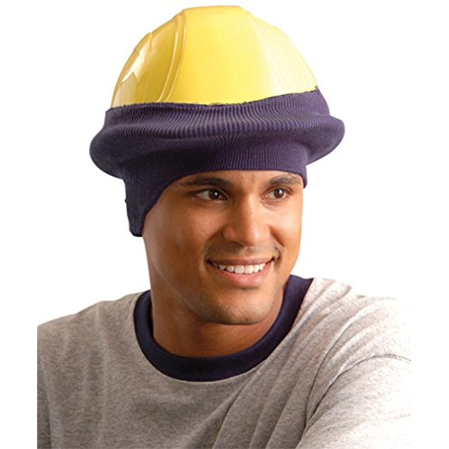 f4226a41123 Stay Warm - Classic Hard Hat Tube Liner - One Size Fits All - NAVY BLUE-12-PACK      To view further for this item