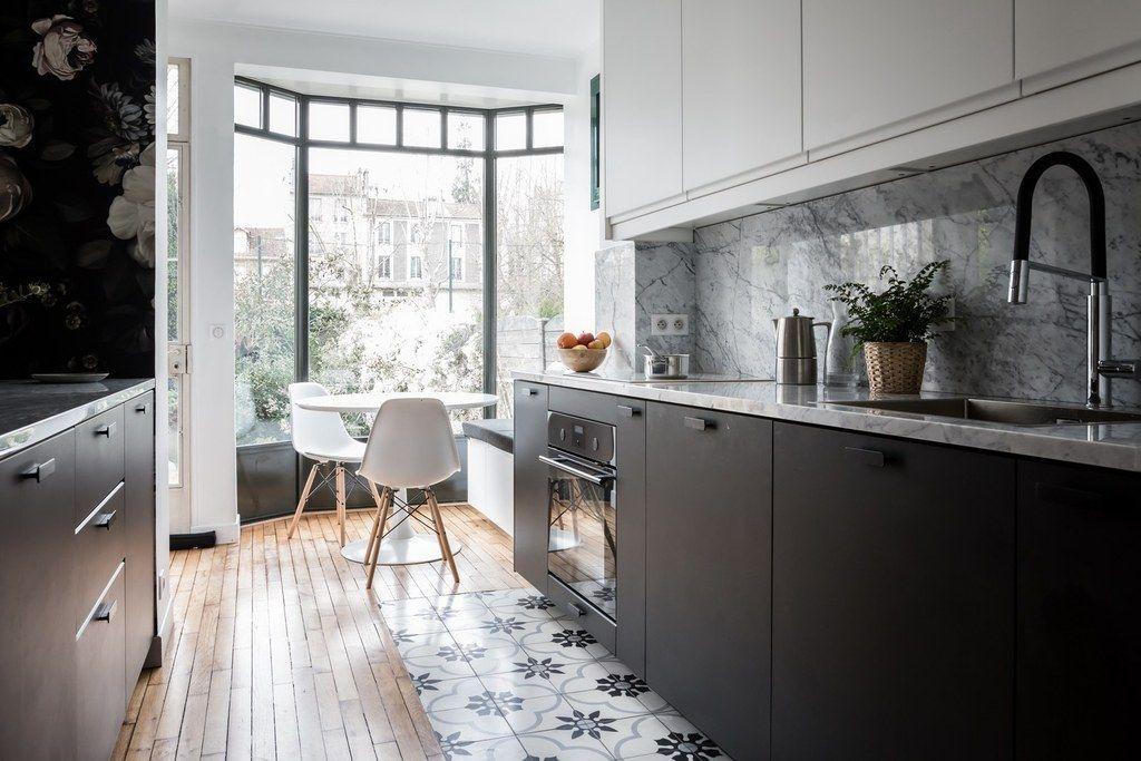 Epingle Par Julie Swart Sur Maison En 2020 Cuisine Moderne Blanche