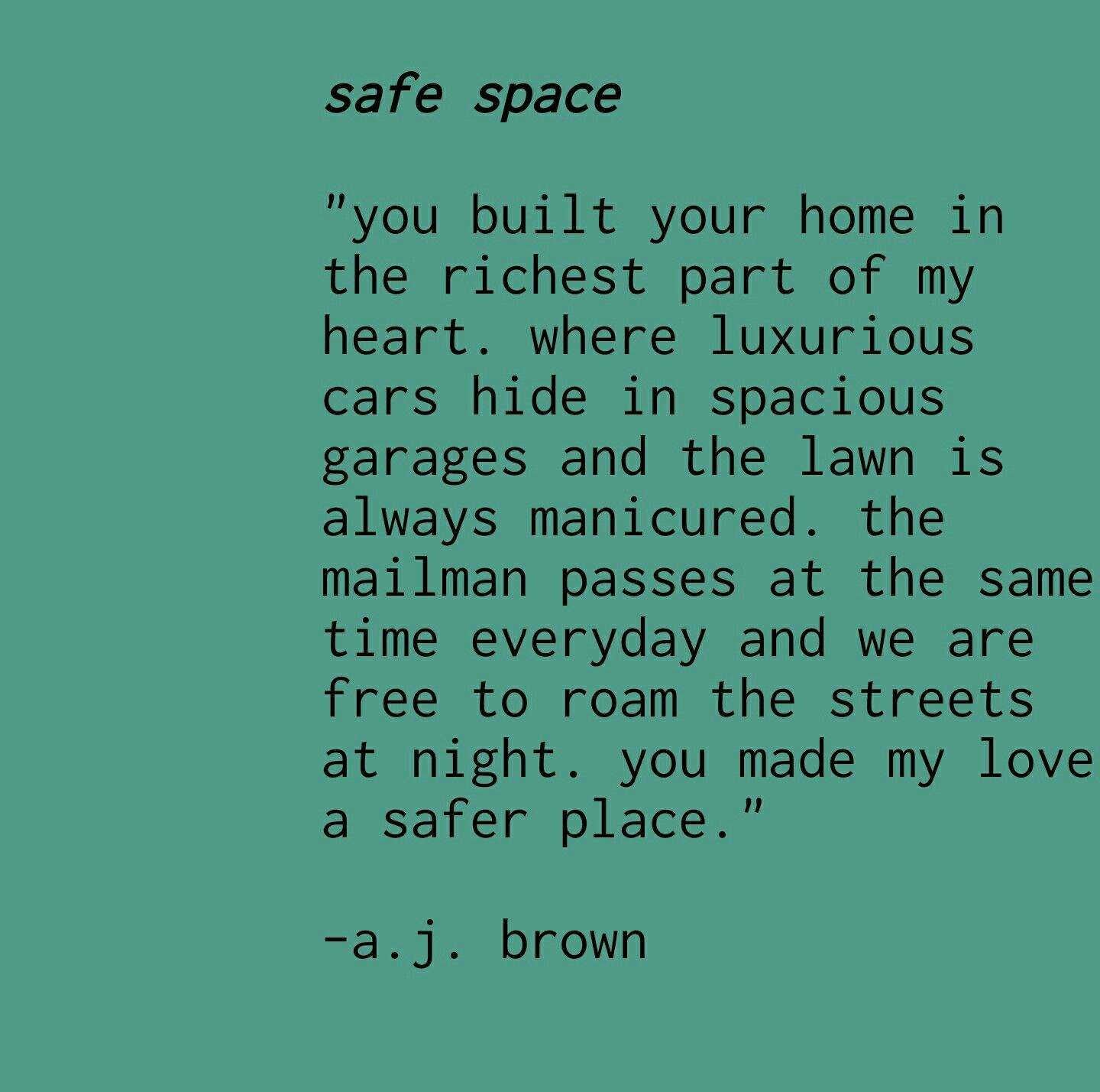 In true love there is safety poetry love relationships quotes