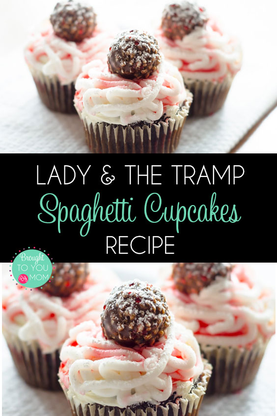 These Spaghetti Cupcakes Are A Perfect Treat For A Lady And The