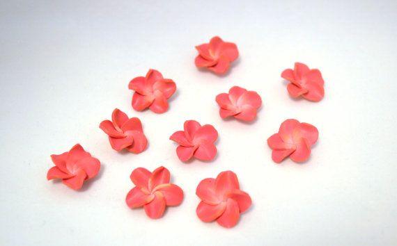 fimo flower 37 by ThirdEarDear on Etsy, $1.80
