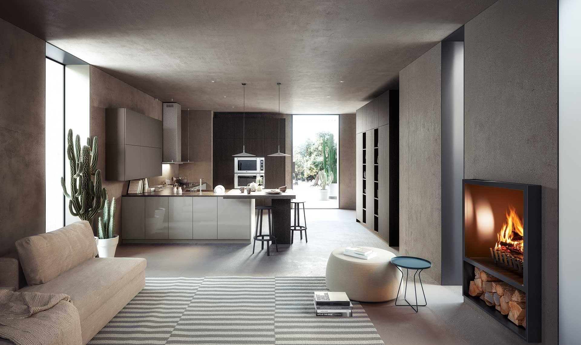 Cucine Open Space Moderne open space. la parola d'ordine nelle case più moderne. l