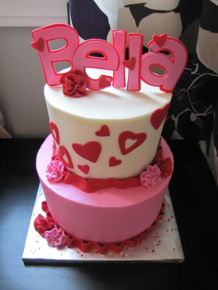 Valentines Birthday Cake Kids Birthday Cakes Pinterest