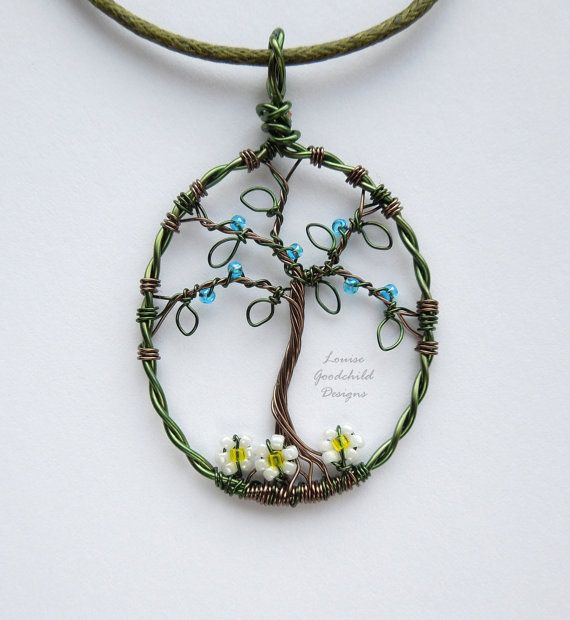 Stunning Wire Tree Pendant Pictures Inspiration - Everything You ...