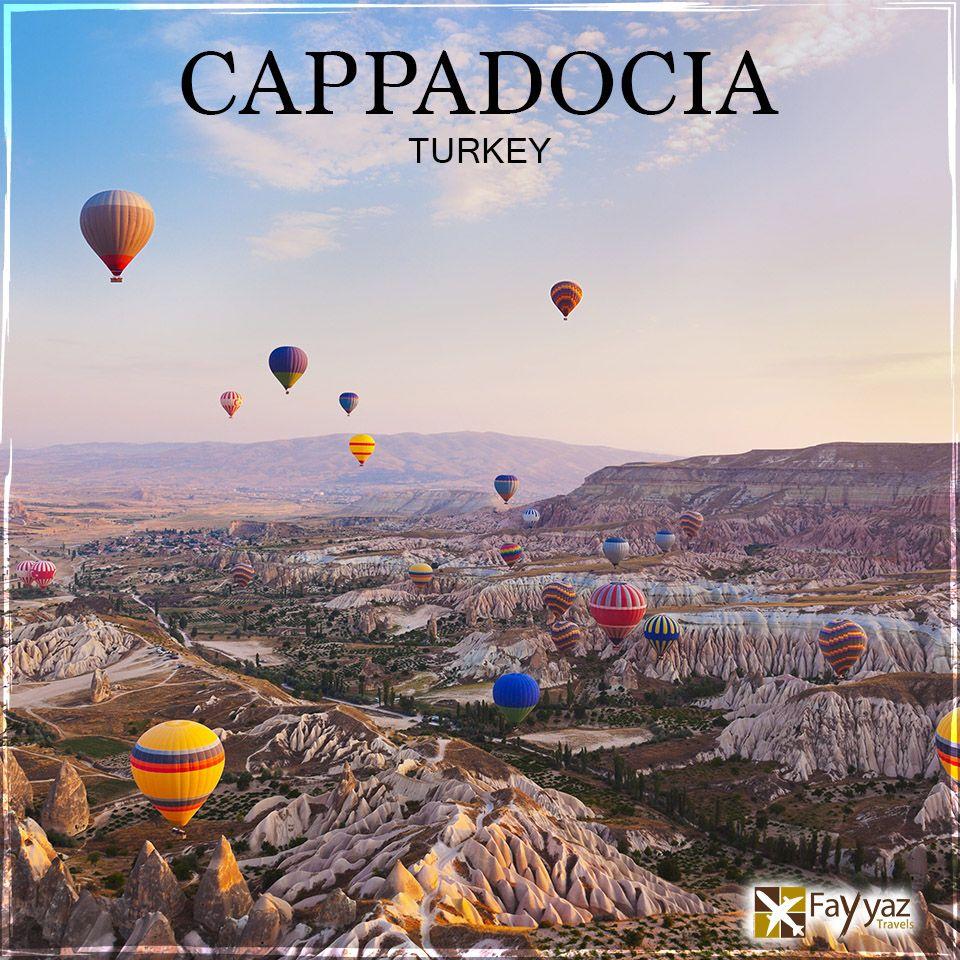 Explore the jewel of Turkey Cappadocia, located in