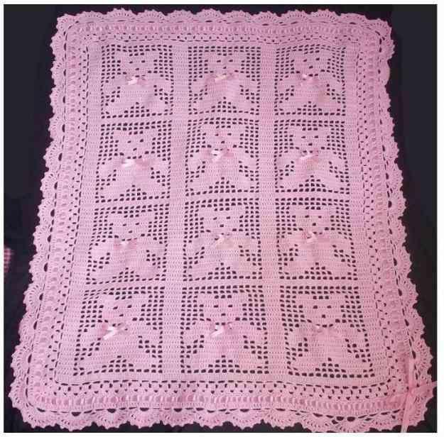 64f7bae3c4e052 Colcha Ositos Bebe Crochet Regalos Para Baby Shower 34893 Jpg 625 616 Colchas Ganchillo Bebé Colchas Tejidas Para Bebe Colcha Para Bebe Crochet