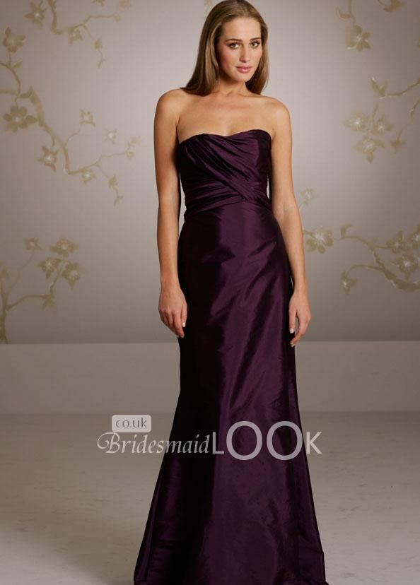 Eggplant Color Bridesmaid Dresses - Ocodea.com