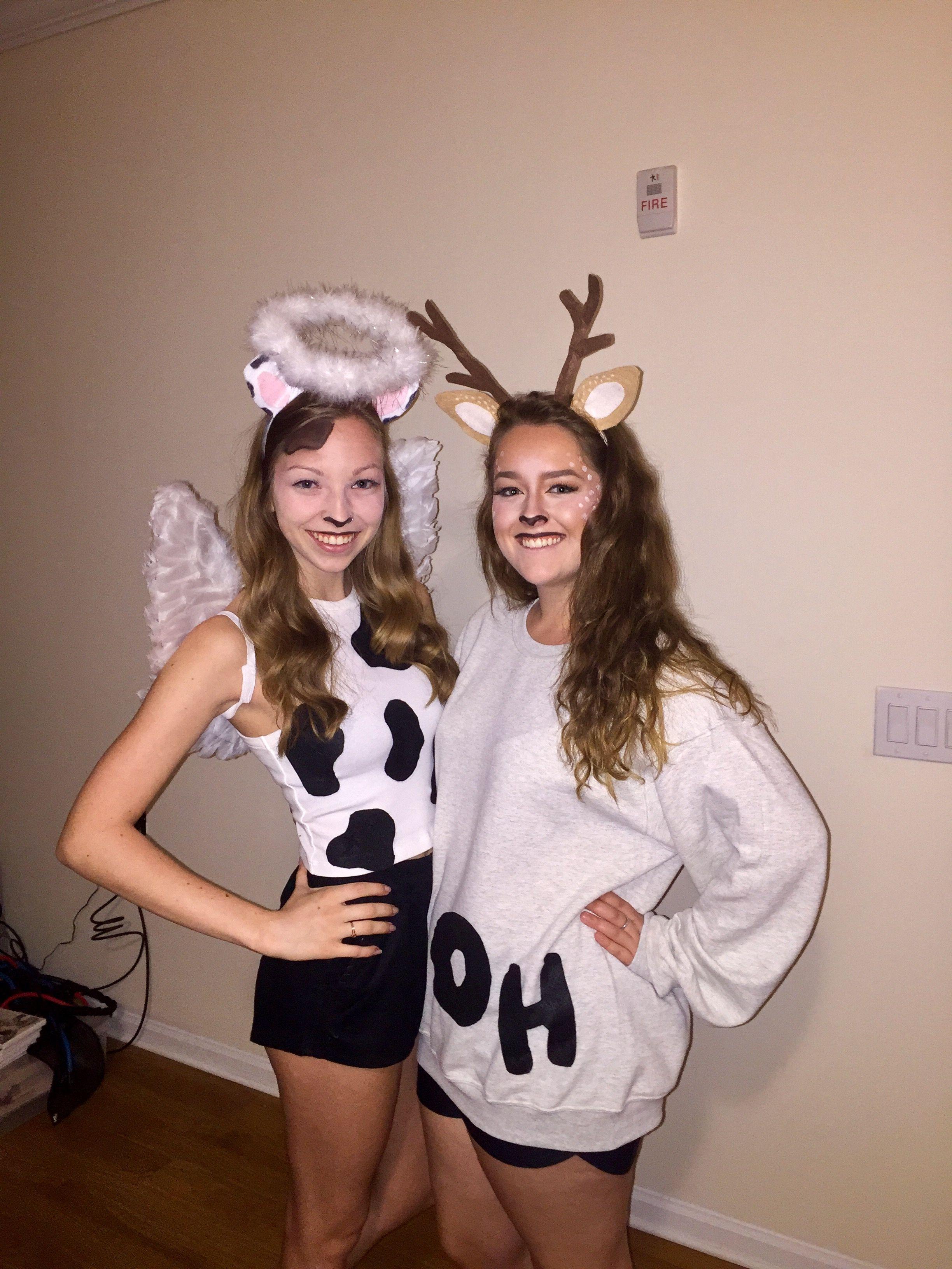 Funny Cow Halloween Costume