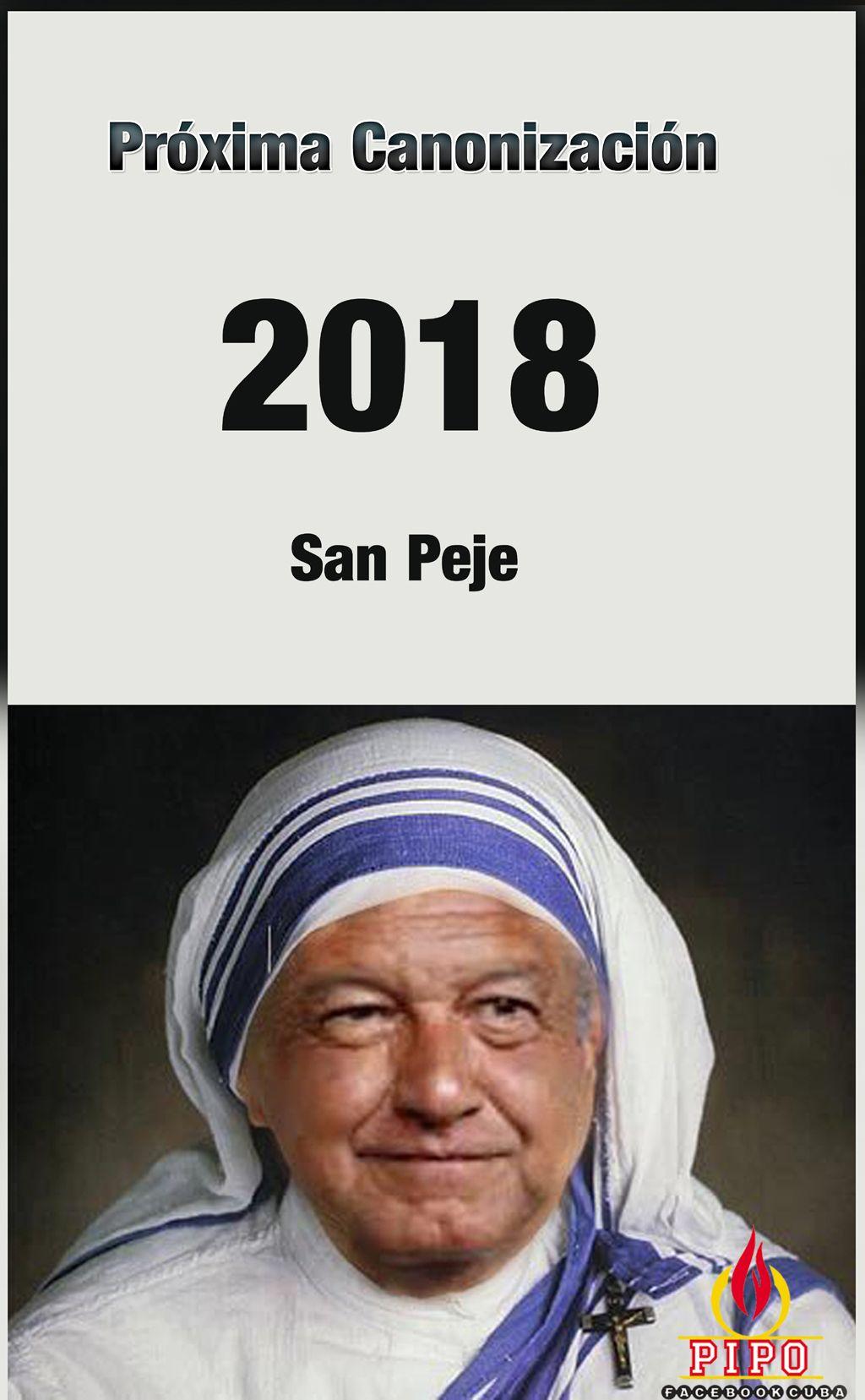 Canonizacion de san Peje.