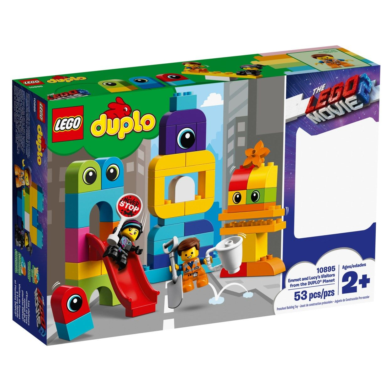 The Lego Movie 2 Sets Now Available With Free Movie Tickets Offer News The Brothers Brick Lego Duplo Duplo Lego Movie