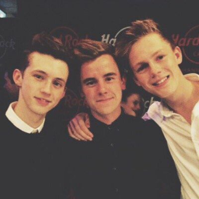 Troye, Connor and Caspar