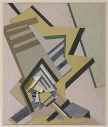 Abstract Composition - Edward Wadsworth