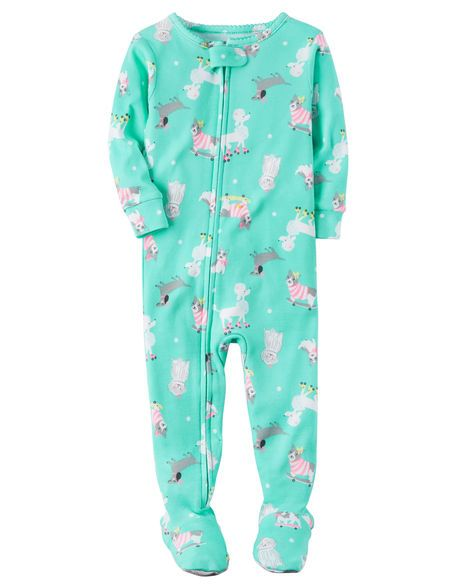 42766466e 1-Piece Snug Fit Cotton PJs