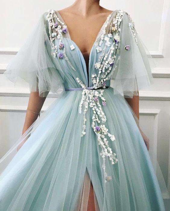 Üç Boyutlu Abiye Elbise Modelleri - #Abiye #Boyutlu #Elbise #kleid #Modelleri #Üç #eveningdresses