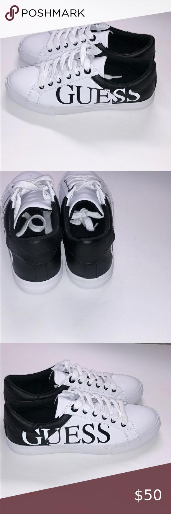 Black sneakers, Guess sneakers