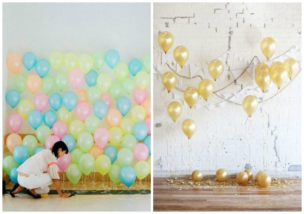 Fondo photocall para niños con globos