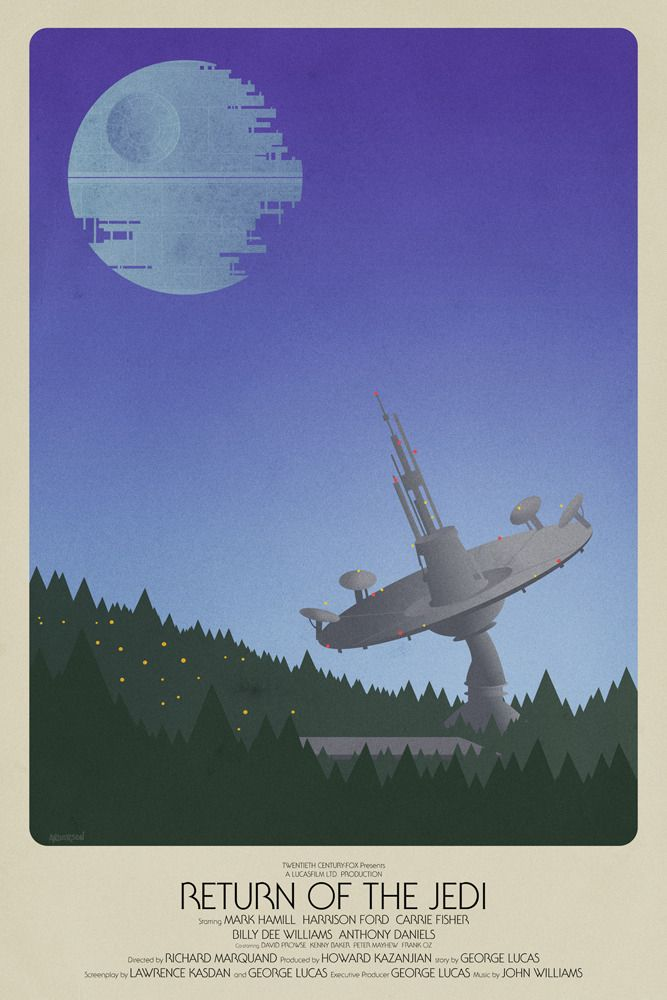 Star Wars Episode VI by Tim Anderson