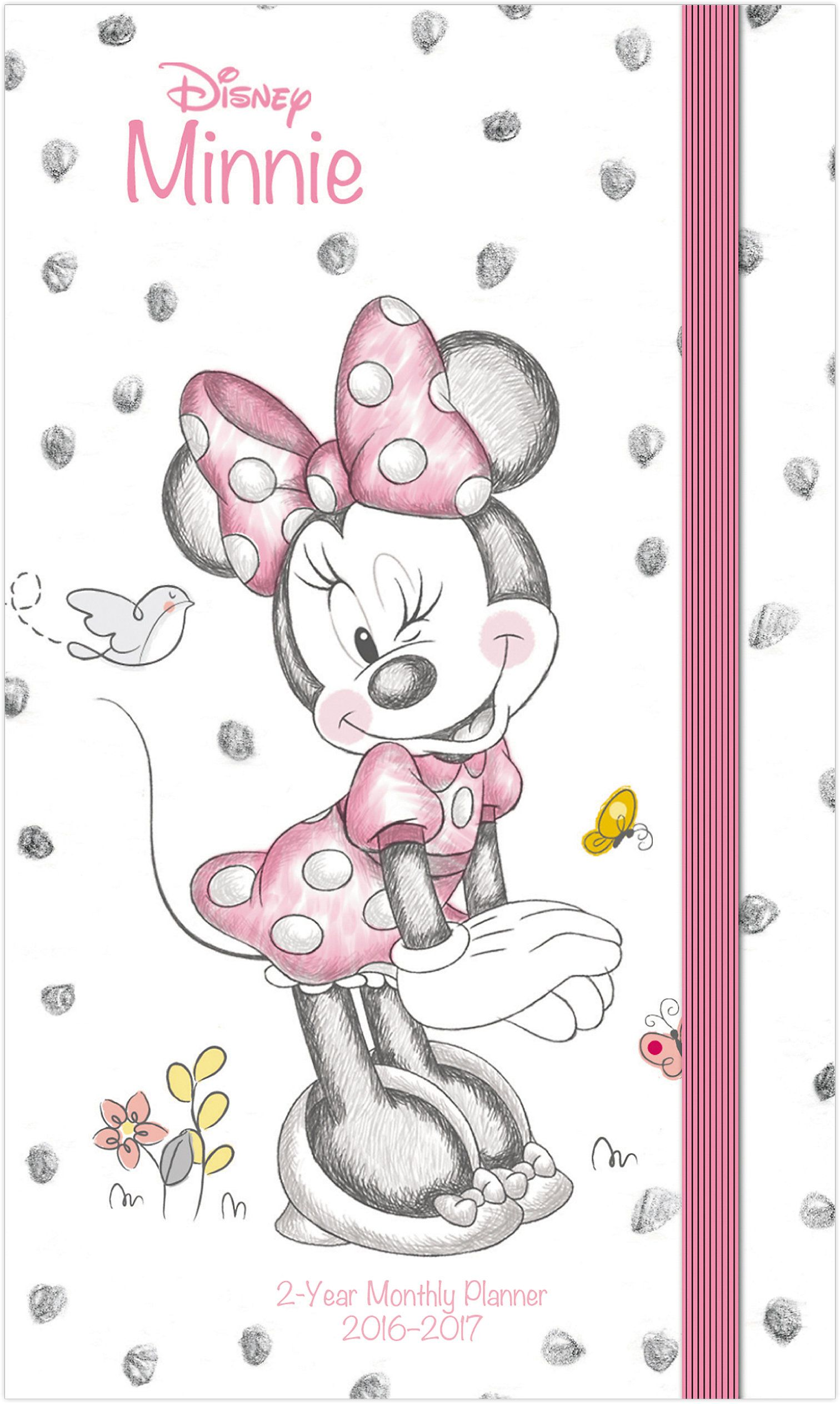 Spend the year with Minnie Mouse with this fun-loving 2016 planner.