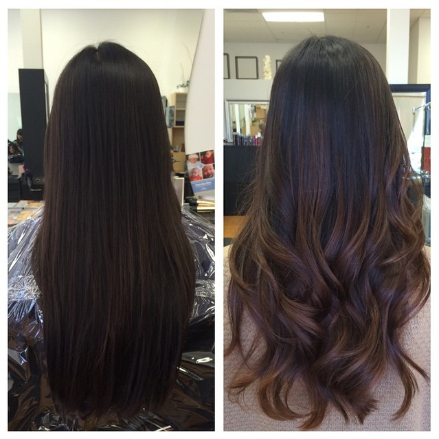 Z Salon Santa Clara Ca United States My Awesome Ombre Balayage