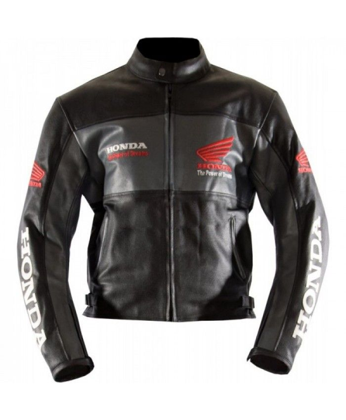 Honda Classic Wings Leather Motorcycle Replica Jacket Leather Motorcycle Jacket Motorcycle Jacket Mens Black Leather Motorcycle Jacket