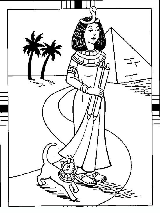 egyptian_drawings_029 Teens coloring pages | coloring 4 | Pinterest
