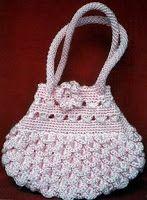 Free Crochet Purse Diagram...translator.