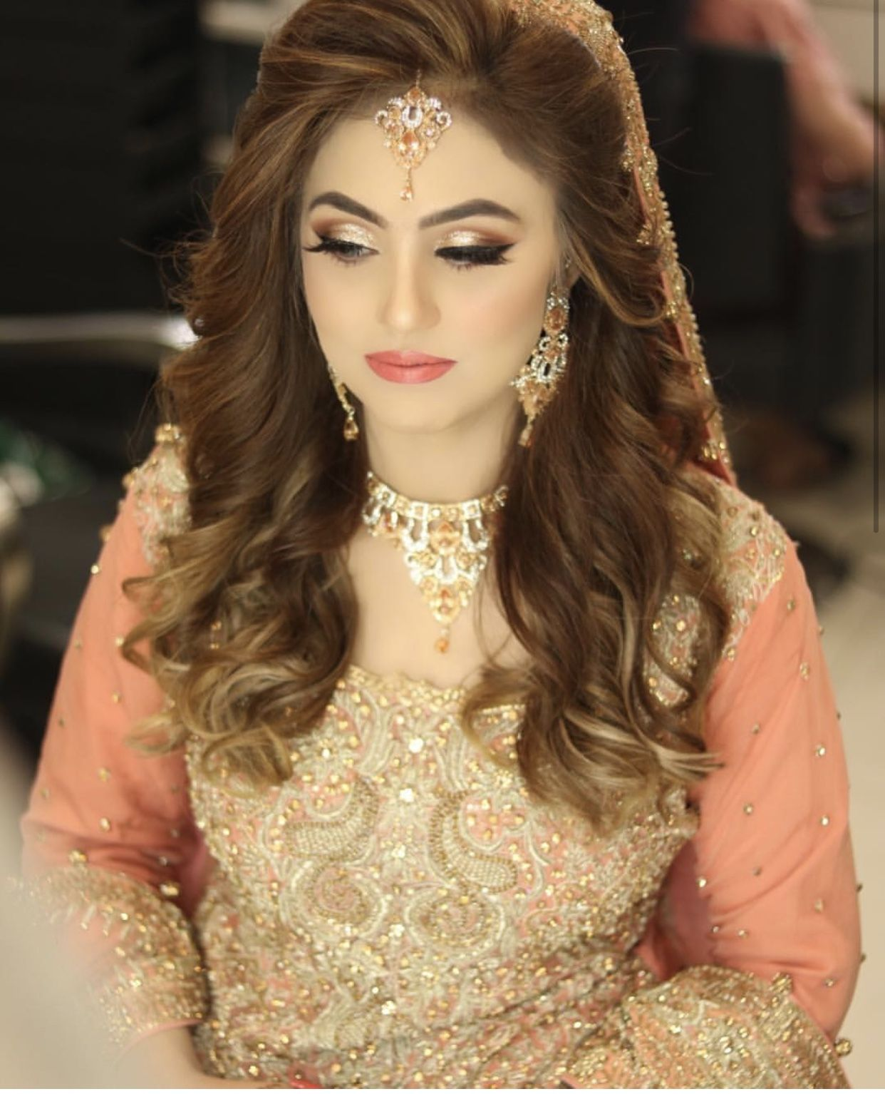 Hairstyles Pakistani Waleema: Pakistani Bridal Hairstyles, Pakistani