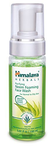 Himalaya Herbal Healthcare Purifying Foaming Face Wash 507 Fluid Ounce * See this great product.