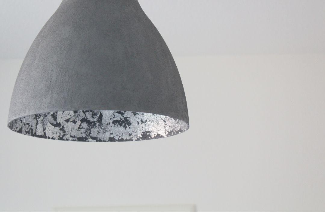 IKEA Hack: Lampe in Betonoptik #betonoptik #Hack #IKEA
