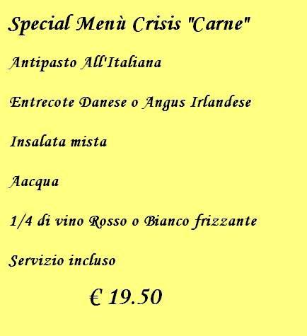 Special menù