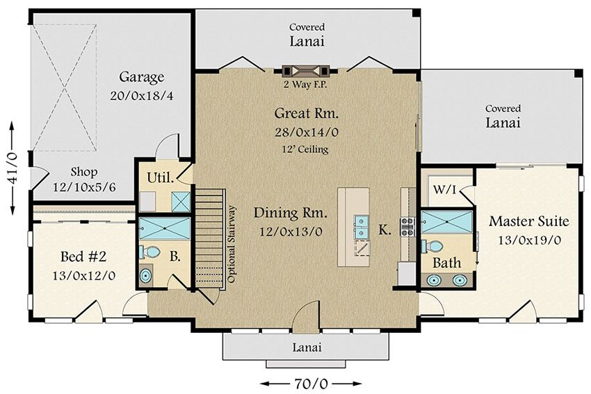 Plan 85132ms Exclusive Modern House Plan With Split Bedroom Layout Modern House Plan House Plans Bedroom Layouts