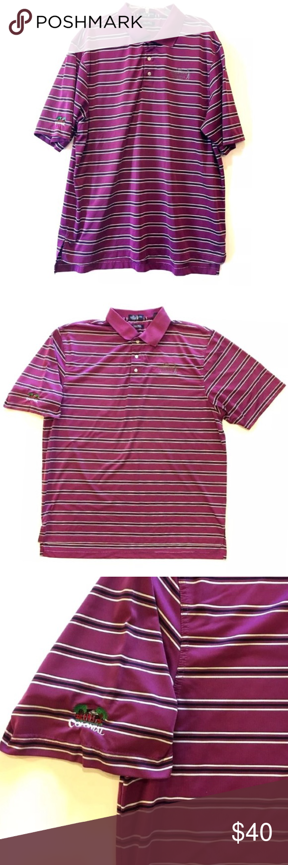 Crowne Plaza Invitational Colonial Polo Shirt Crowne Plaza