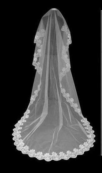 2018 New Flying Wedding Veil Tools Long 3 M Muslin Cheap Wedding Veil Wedding Veils Lace Tulle Bridal Veil