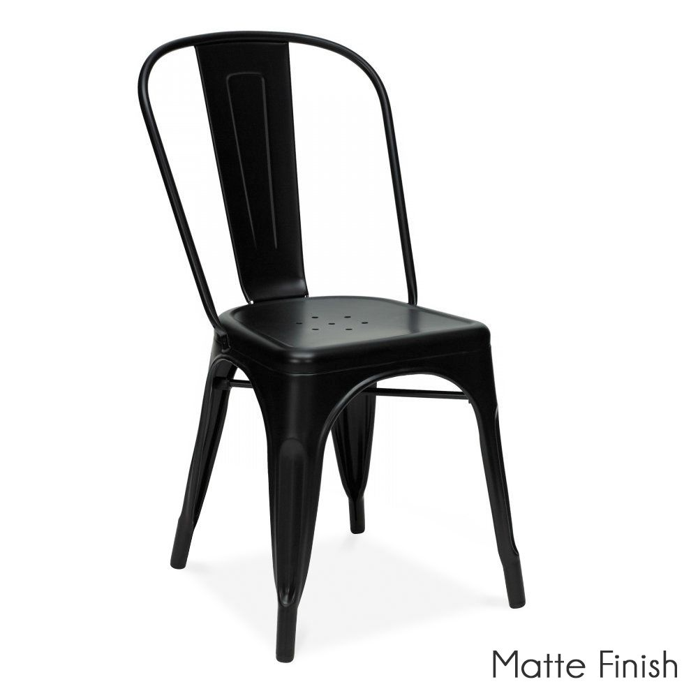 xavier pauchard french industrial dining room furniture xavier pauchard black powder coated side chair 55 dining room