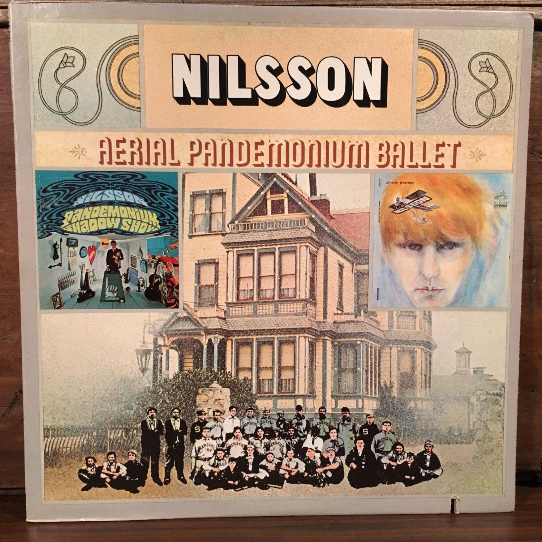 Harry Nilsson • Aerial Pandemonium Ballet Vinyl LP 1971