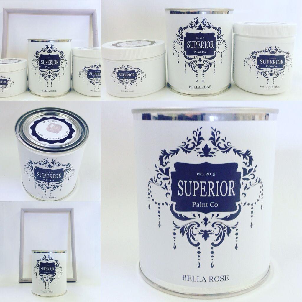 Superior Paint Co. Bella Rose Chalk Paint