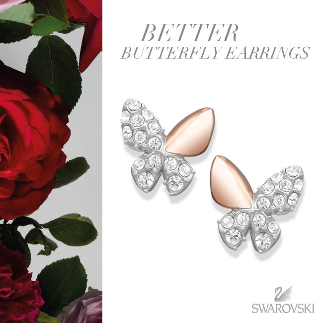 Our sweet and playful Better Butterfly earrings are a sparkling addition to your everyday look.
