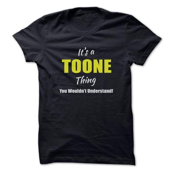 I Love Its a TOONE Thing Limited Edition Shirts & Tees