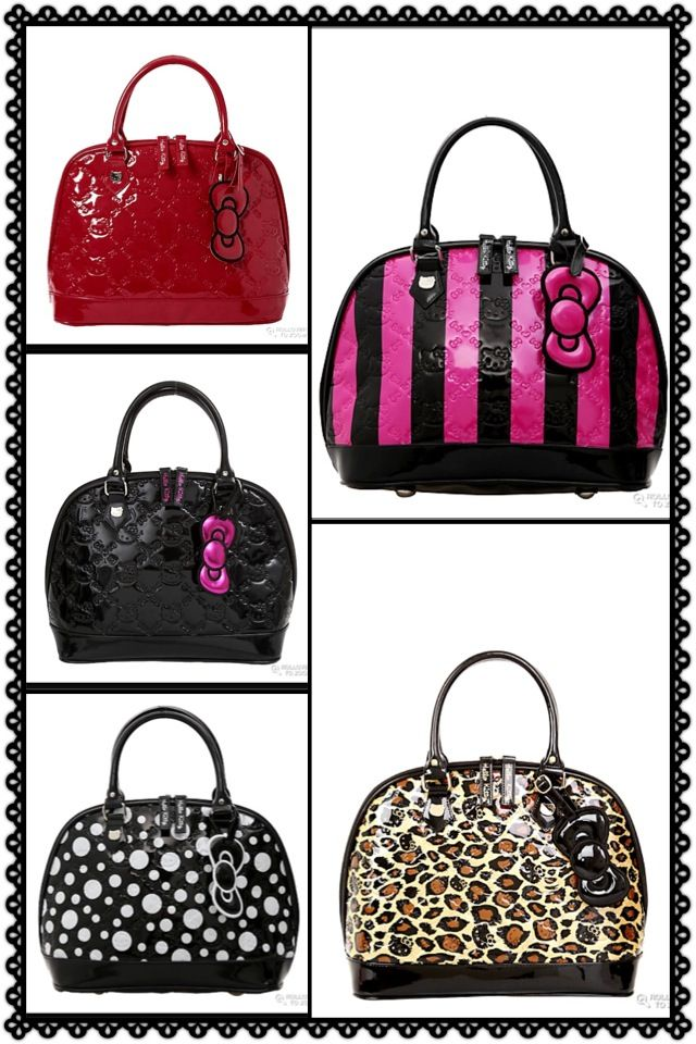 Hello Kitty purses..Available @ Hot Topic