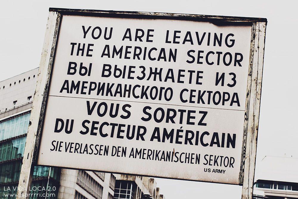 Checkpoint Charlie | La Vida Loca 2.0 Matkablogi | www.sarrrri.com
