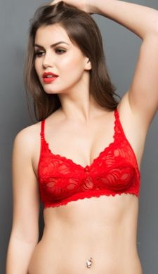 74d108bcd Buy hot sexy bras, full transparent bra with transparent straps, sheer bras  with lace & transparent back bra online at best price.