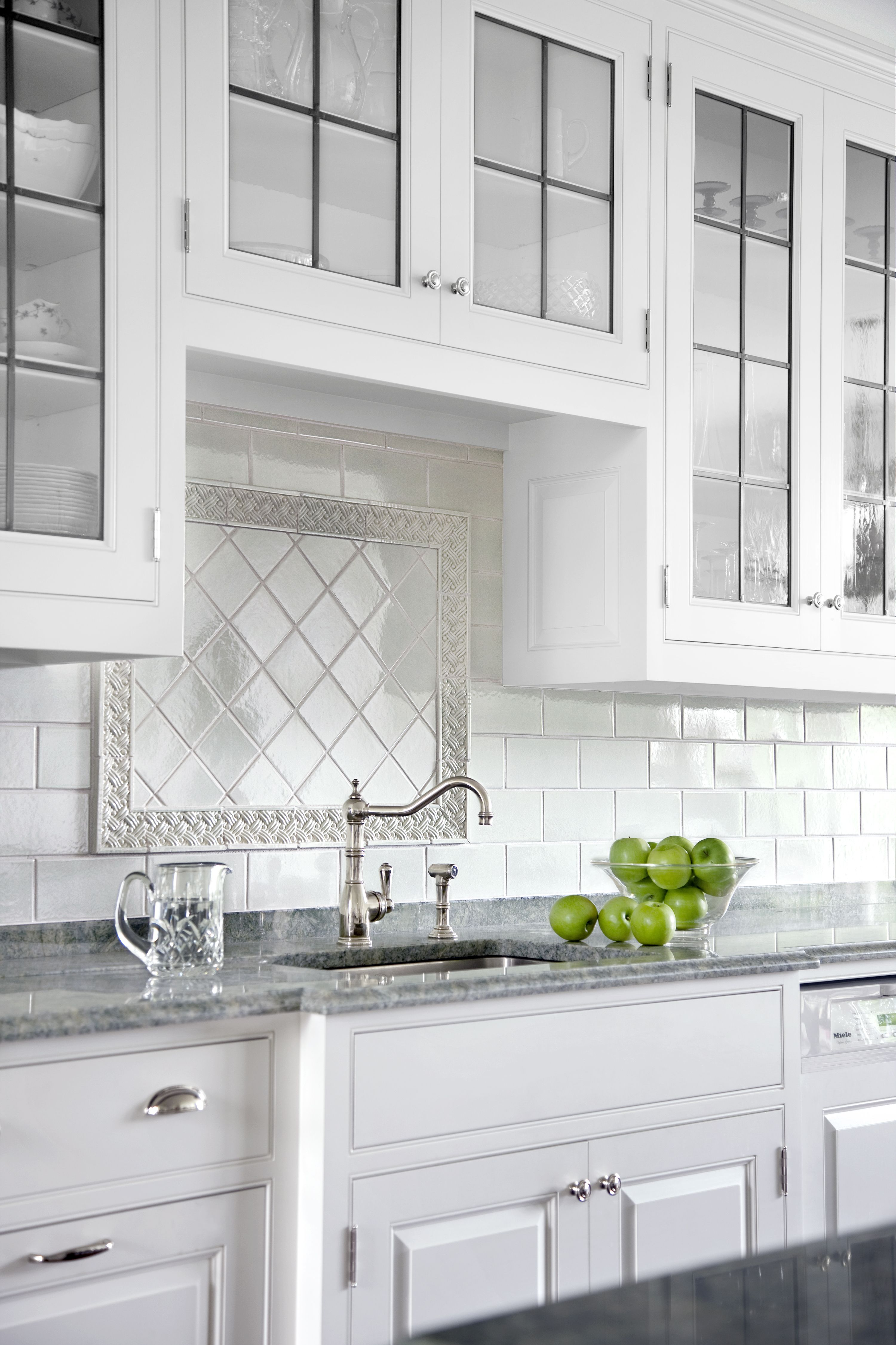 All About Ceramic Subway Tile Stove Backsplash White